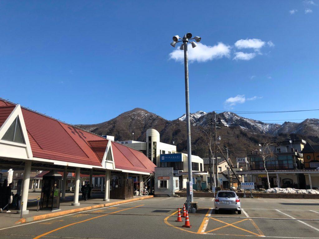 スキー旅行1日目・越後湯沢駅前