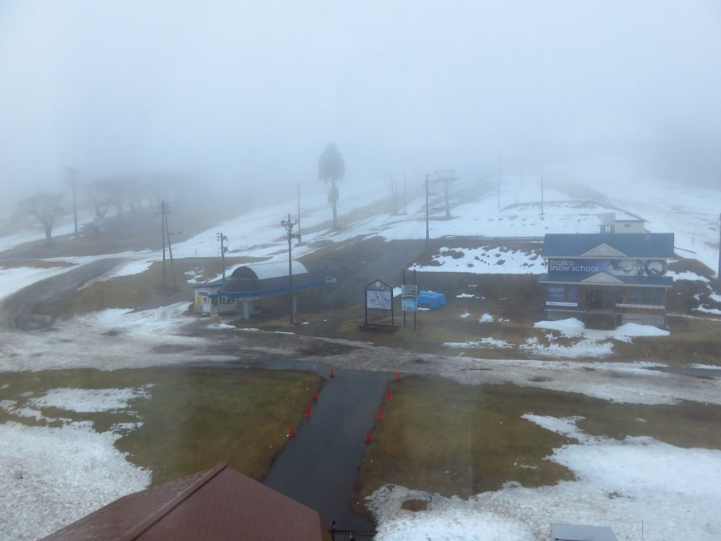 スキー旅行2日目・朝