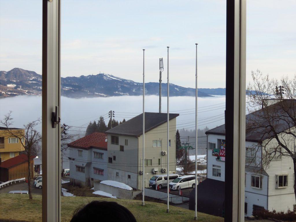スキー旅行3日目・雲海1