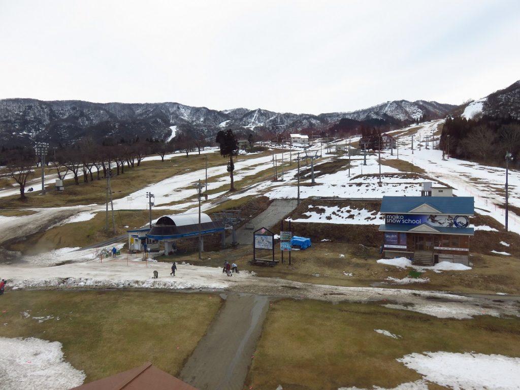 スキー旅行3日目・朝