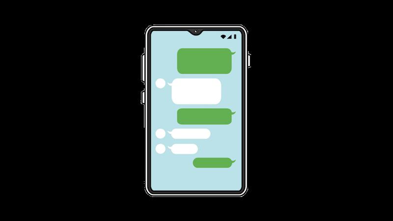 LINEでのコミュニケーション